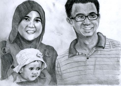 Me and my family by Sylarius