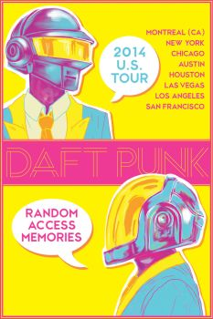 DAFT PUNK: RAM Tour by Lobsterbeef