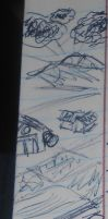Notebook margin doodles by Colliequest