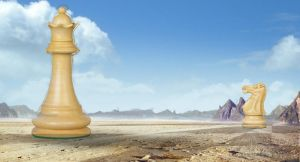 Chess Desert by cgNoel