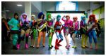 Jem and holograms and Captain Planet cosplay by taifu89