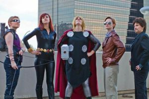 Avengers Assemble by RhapsoCosplay