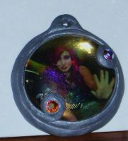 Captured Faerie Pendant by papermuse