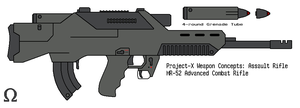 Advanced Combat Rifle by omegafactor90