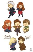 Doctor Who  Set 2014 by weiliwonka