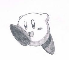 Kirby 2 by CreatureFromTheAbyss