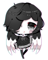 [cm] angelic monochrome by rinihimme