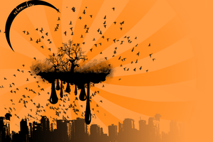 Vector of the Spooky City by Ashen-Fox