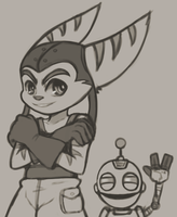 Ratchet and Clank by CheloStracks