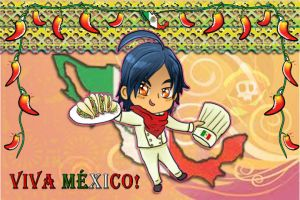 hetalia chibi mexico chef by chaos-dark-lord