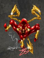 Iron Spider Man by jack0001