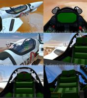 Valkyrie macross cockpit by asgard-knight
