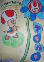 Toad by Toad-x-Yoshi-x-Peach