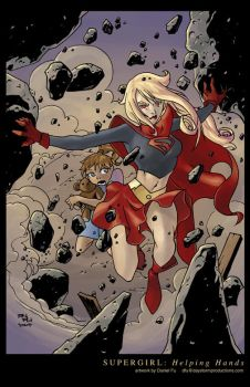 Supergirl: Helping Hands Color by Daystorm