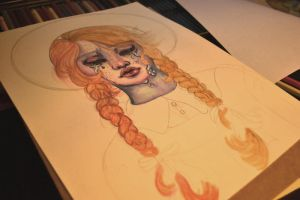 Anne of Green Gables WIP by Sarahfina-Rose