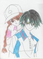prince of tennis pair by chaoticmistress