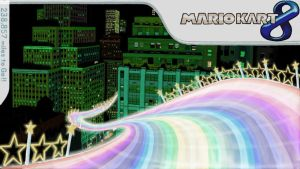 Mario Kart 8: Rainbow Road (Section 1) by chunzprocessor