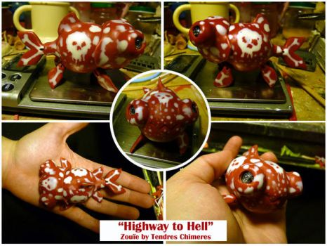 Highway to Hell, toxic Zouie , cute fishy by TendresChimeres