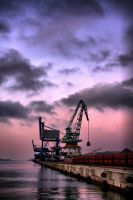 Overseas Harbour by Katerianer