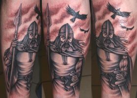 Odin 4 by DarkSunTattoo