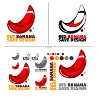 red banana save design - logo by dheny