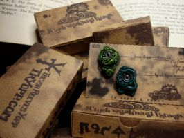 Lovecraft Inspired Earrings by NOWorTREVOR
