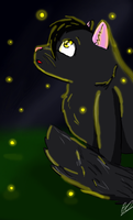 Fireflies in the Night by JacktheFireWolf