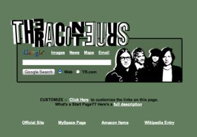 The Raconteurs Startpage by AwesomeStart