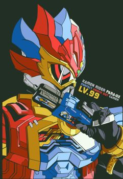 Kamen Rider Para-DX  Perfect Knock Out Gamer Lv.99 by TMRYST