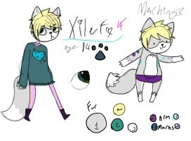 Xilef Ref! by Blue-Sulphur