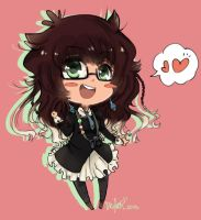 liz chibi (activity check 1 ) by Skyler-chan498