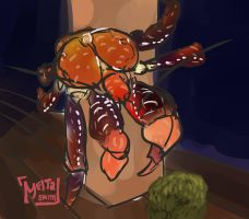 Coconut Crab by mayshort97
