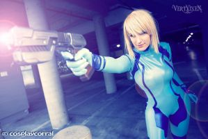 Zero Suit Samus - On Point by Vert-Vixen