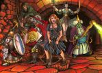 Dungeon party by Bodach