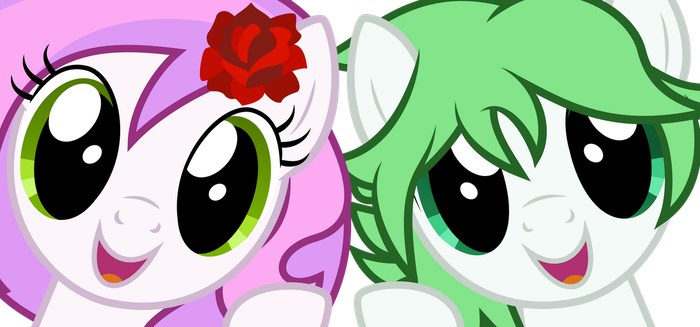 [Request] Petal Sparkle and Sunny Bloom by LuckySmores