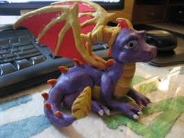 Spyro Sculpture by DragonCid