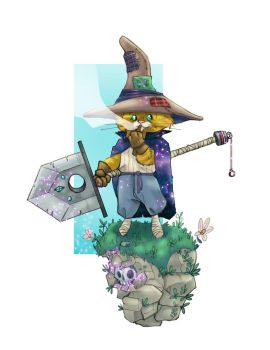 Cat-Wizard by thailur