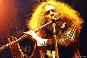 Ian Anderson- Digital Painting by paulnery