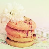 Flower cookie by Holunder