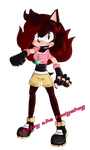 Jholey the hedgehog by FANTASY-WORKS-JMBD