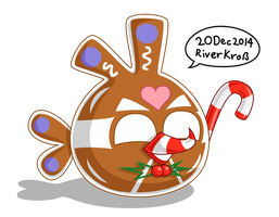 AI GingerBread Bird by RiverKpocc