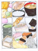 Japanese food by sayo