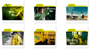 Breaking Bad Folder Icons by nellanel