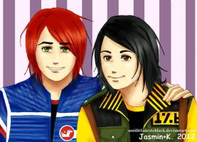 Party Poison and Fun Ghoul 2 by UNTILitFADEStoBLACK