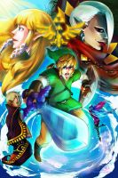 SKYWARD SWORD. by mangOKappu