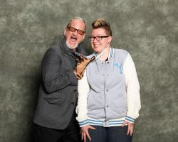 Robert Englund and I by HarveyMichael