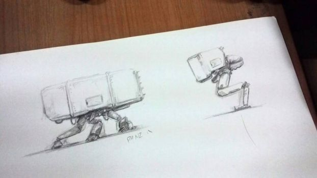 mechs by Panzery25