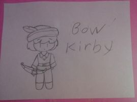 archer kirby from kirby: triple deluxe by bigbob101