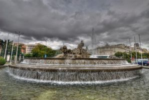 Cibeles Fountain by Bodenlos