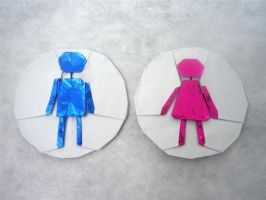 WC People - Origami by mitanei